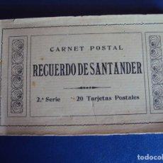 Postales: (PS-61494)BLOCK CON 15 POSTALES DE SANTANDER - FOTOTIPIA CASTAÑEIRA,ALVAREZ Y LEVENFELD. Lote 172063085