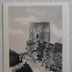 Postales: TARJETA POSTAL CASTILLO DE SAN VICENTE DE LA BARQUERA (CANTABRIA) - LIBRERÍA GENERAL SANTANDER. Lote 173046713