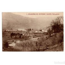 Postales: ALCEDA.(SANTANDER).- BALNEARIO DE ONTANEDA. VISTA GENERAL.. Lote 175299979