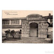 Postales: ALCEDA.(SANTANDER).- ENTRADA AL BALNEARIO.. Lote 175300209
