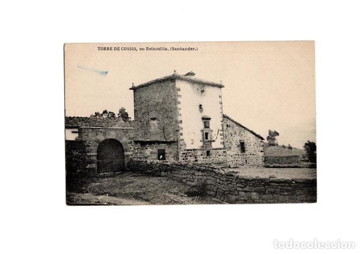 TORRE DE COSSIO EN REINOSILLA. REINOSA. SANTANDER. (Postales - España - Cantabria Antigua (hasta 1.939))
