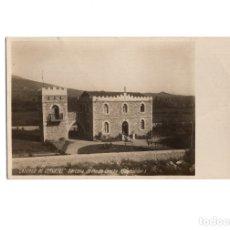 Postales: CASTILLO DE CERVATOS. BARCENA DE PIE DE CONCHA. SANTANDER. FOTOGRAFICA. Lote 175965939