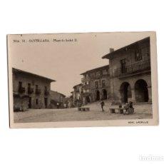 Postales: SANTILLANA DEL MAR.(SANTANDER).- PLAZA ISABEL II.. Lote 176067509
