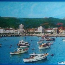 Postales: POSTAL 8 CASTRO URDIALES PUERTO Y VISTA PARCIAL ED ARRIBAS CANTABRIA. Lote 176269942