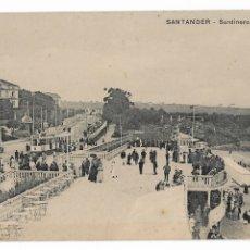 Postales: SANTANDER - SARDINERO - LA TERRAZA. Lote 176648872