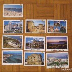Postales: LOTE 10 POSTALES. COMILLAS, SANTANDER, SANTILLANA DEL MAR, SAN VICENTE DE LA BARQUERA, LAREDO. . Lote 176896159