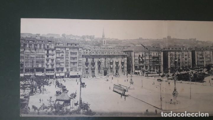 Postales: TARJETA POSTAL TRIPLE, SANTANDER VISTA GENERAL. FOTOTIPIA CASTAÑEIRA Y ÁLVAREZ. - Foto 3 - 178618671