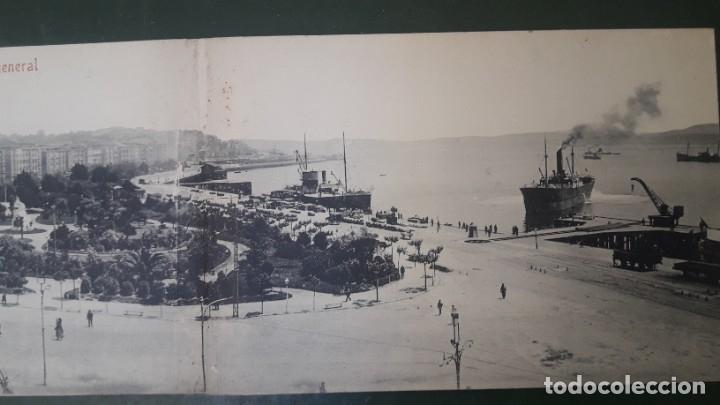 Postales: TARJETA POSTAL TRIPLE, SANTANDER VISTA GENERAL. FOTOTIPIA CASTAÑEIRA Y ÁLVAREZ. - Foto 4 - 178618671