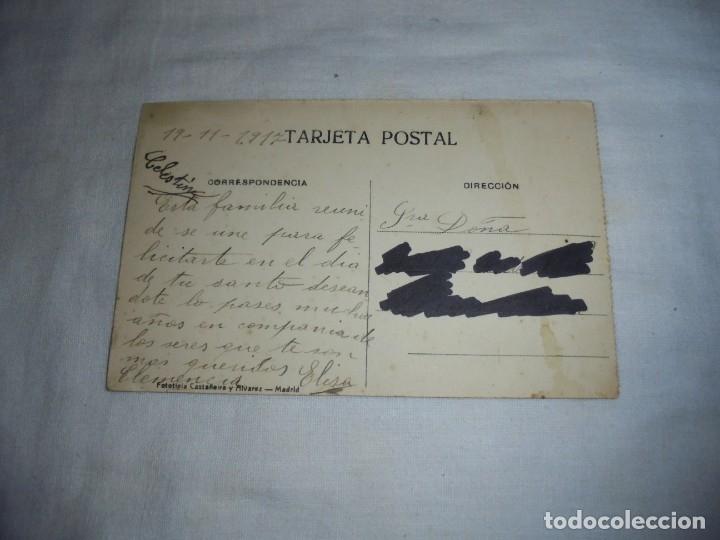 Postales: SANTANDER.-FARO DE LA CERDA Y LA BAHIA.FOTOTIPIA CASTAÑEIRA Y ALVAREZ MADRID.ESCRITA Y FECHADA 1917 - Foto 2 - 178624246