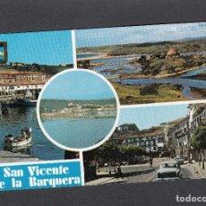Postales: Nº 11 SAN VICENTE DE LA BARQUERA. DIVERSOS ASPECTOS. Lote 178866981