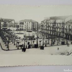 Postales: SANTOÑA. PLAZA DE SAN ANTONIO. FOTOPOSTAL. Lote 178936900
