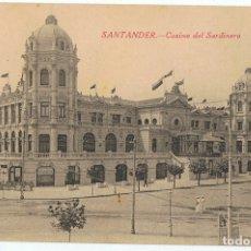 Postales: POSTAL SANTANDER CASINO DEL SARDINERO . Lote 178949488