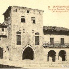 Postales: 3 ANTIGUAS POSTALES DE SANTILLANA DEL MAR. SIN CIRCULAR. Lote 179129270