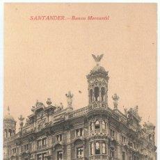 Postales: POSTAL SANTANDER BANCO MERCANTIL . Lote 179175136
