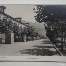 Postales: 14 - SANTOÑA PASEO DE PEREDA. L. DÍEZ. Lote 179543197