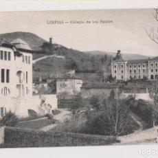 Postales: POSTAL. LIMPIAS.L COLEGIO DE LOS PAULES. CANTABRIA. Lote 179551712
