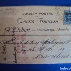 Postales: (PS-61893)POSTAL DE TORRELAVEGA-TENERIA FRANCESA.A.ETCHART. Lote 180006462