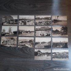 Postales: LOTE DE 14 POSTALES ANTIGUAS DE SANTANDER. PAPELERÍA EL ESCRITORIO. SIN CIRCULAR.. Lote 180026022