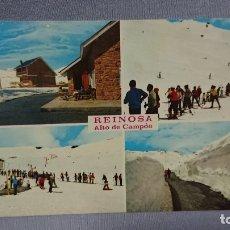 Postales: POSTAL REINOSA ALTO DE CAMPOO SANTANDER CANTABRIA. Lote 180196663