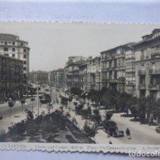 Postales: SANTANDER , PLAZA DEL GENERALISIMO . Lote 180289735