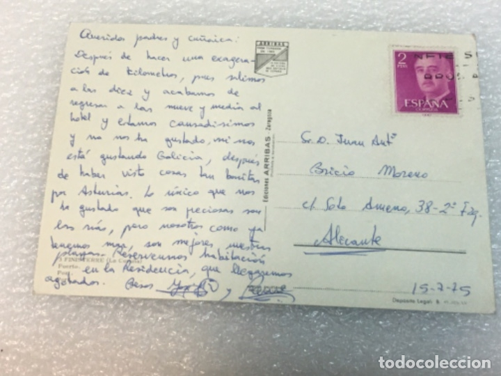 Postales: Postal Original Circulada finisterre - Foto 2 - 180401608