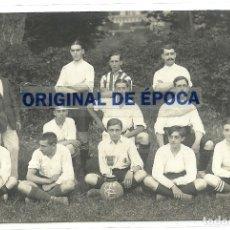 Postales: (PS-61994)POSTAL FOTOGRAFICA EQUIPO DE FOOT-BALL F.C.COMILLAS(SANTANDER) . Lote 181404548