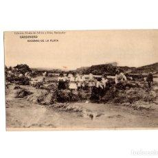 Postales: SANTANDER.(CANTABRIA).- SARDINERO. ESCENAS DE LA PLAYA. LIBRERIA VIUDA DE ALBIRA. . Lote 181598568