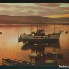 Postais: SAN VICENTE DE LA BARQUERA. *ATARDECER EN LA BAHÍA* ED. FOTO M. CASTRO. NUEVA.. Lote 182009858