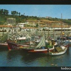 Postales: SAN VICENTE DE LA BARQUERA. *MUELLA Y BARRIO DE PESCADORES* ED. FISA Nº 62. NUEVA.. Lote 255560765