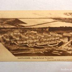 Cartoline: SANTANDER. POSTAL CASA DE SALUD DE VALDECILLA. FOTOS TOMADAS DESDE AVIÓN POR LIMORTI (H.1950?). Lote 182281968