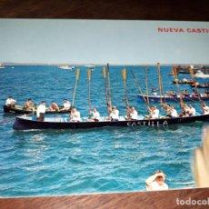 Postales: Nº 6593 POSTAL SANTANDER TRAINERA LA NUEVA CASTILLA PEDREÑA HOMENAJEADA EN SU CINCUENTENARIO. Lote 182390198