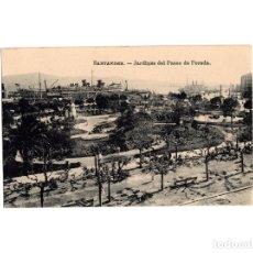 Postales: SANTANDER.(CANTABRIA).- JARDINES DEL PASEO PEREDA . Lote 182526543