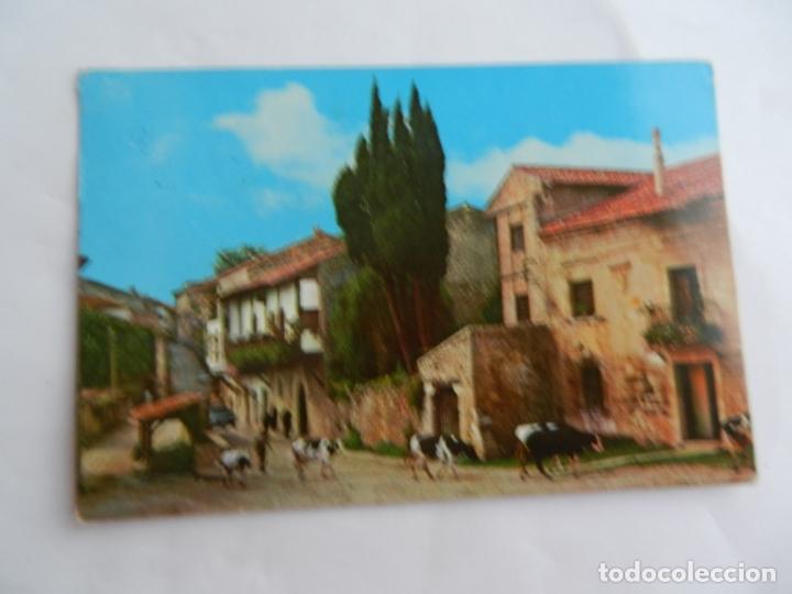 POSTAL 507 SANTILLANA DEL MAR-SANTANDER - CALLE DEL CANTÓN - 1980 - CIRCULADA . (Postales - España - Cantabria Moderna (desde 1.940))