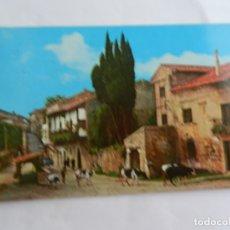 Postales: POSTAL 507 SANTILLANA DEL MAR-SANTANDER - CALLE DEL CANTÓN - 1980 - CIRCULADA . . Lote 182642366