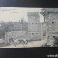 Postales: SANTANDER PUERTA DE LA ALBERICIA. Lote 183453503