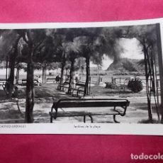 Postales: TARJETA POSTAL. CASTRO-URDIALES. JARDINES DE LA PLAYA. MANIPEL.. Lote 183525483