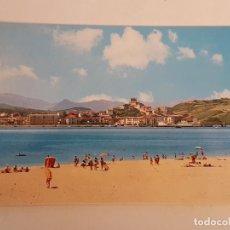 Postales: SAN VICENTE DE LA BARQUERA CANTABRIA PLAYA POSTAL . Lote 183656841