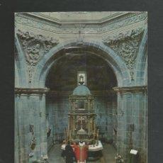 Postales: POSTAL SIN CIRCULAR - SANTO TORIBIO DE LIEBANA 101 CAPILLA Y CAMERIN DEL LIGNUM CRUCIS - BUSTAMANTE. Lote 183967351