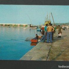 Postales: POSTAL SIN CIRCULAR - COLINDRES - PESCANDO EN EL MUELLE - EDITA AUFER. Lote 183967508