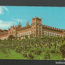 Postales: POSTAL SIN CIRCULAR - COMILLAS - UNIVERSIDAD PONTIFICIA - SANTANDER - EDITA FOTO IMPERIO. Lote 183968200