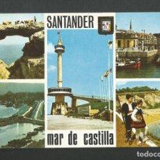 Postales: POSTAL SIN CIRCULAR - SANTANDER 118 - EDITA ESCUDO DE ORO. Lote 183968256