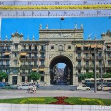 Postales: POSTAL DE CANTABRIA. AÑO 1964. SANTANDER, BANCO DE SANTANDER. SEAT 600, AUTOBÚS. 2581. Lote 184059001