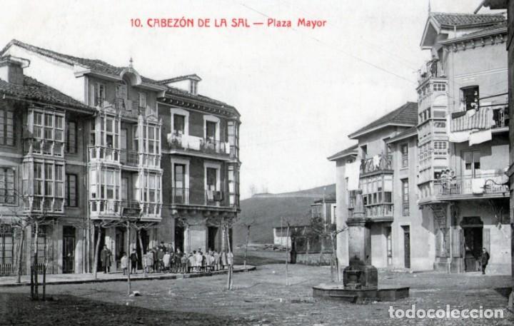 CABEZON DE LA SAL CANTABRIA 10 - PLAZA MAYOR (Postales - España - Cantabria Antigua (hasta 1.939))