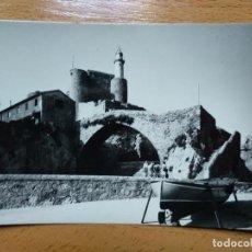 Postais: CANTABRIA. CASTRO URDIALES. VISTA DEL FARO Y PUENTE. ED. ALARDE Nº 57. Lote 186072343