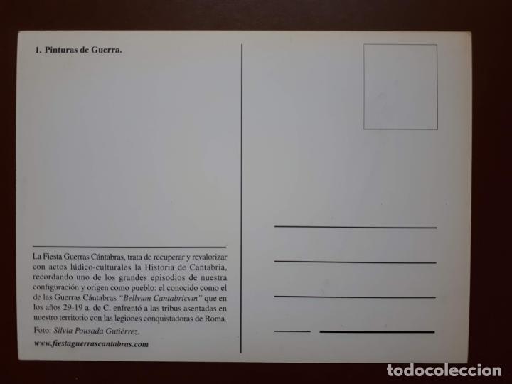 Postales: Postal Fiesta Guerras Cántabras - Los Corrales de Buelna - Foto 2 - 187183676