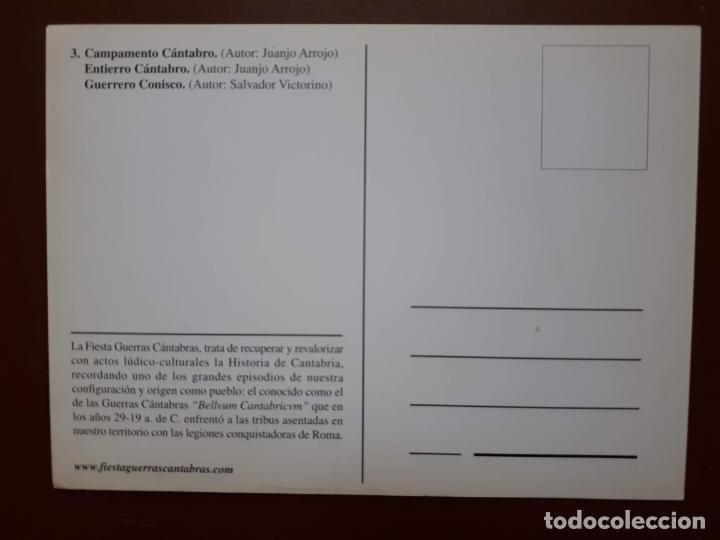 Postales: Postal Fiesta Guerras Cántabras - Los Corrales de Buelna - Foto 2 - 187183838