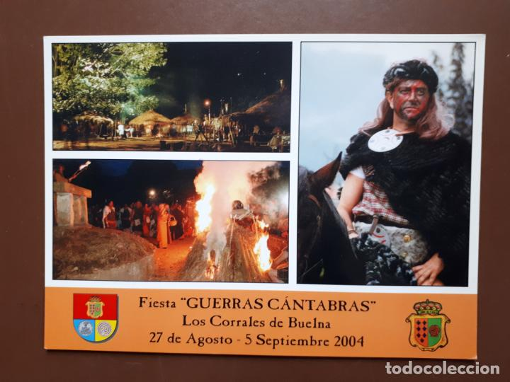 POSTAL FIESTA GUERRAS CÁNTABRAS - LOS CORRALES DE BUELNA (Postales - España - Cantabria Moderna (desde 1.940))