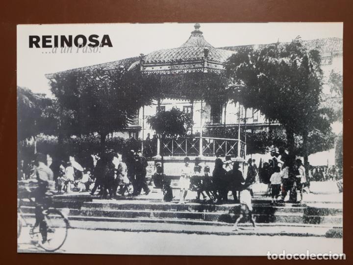 POSTAL REINOSA ...A UN PASO! - PLAZA DE ESPAÑA (1930) (Postales - España - Cantabria Moderna (desde 1.940))