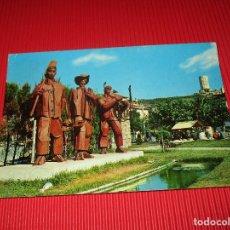 Postales: LAREDO - MONUMENTO AL PESCADOR - 8251 - ESCRITA Y CIRCULADA - EDICIONES A. ESPERON. Lote 187527258