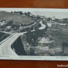 Postales: COMILLAS PASEO DEL PUENTE PORTILLO POSTAL ORIGINAL ANTIGUA ESCRITA SIN SELLO. Lote 188479605
